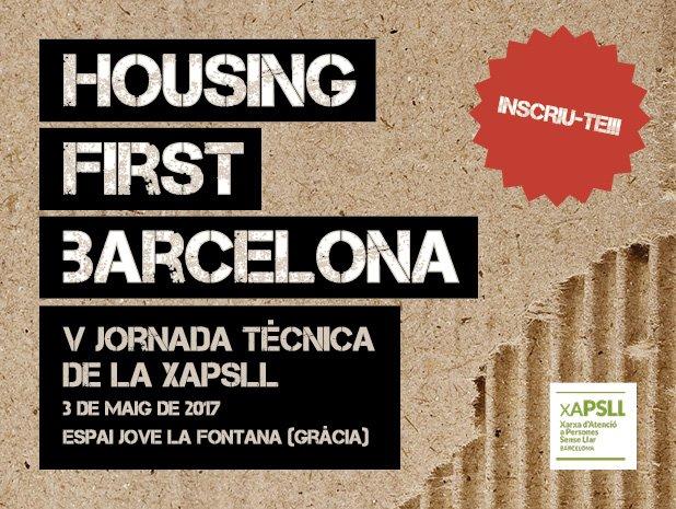 test Twitter Media - 📆🏡El pròxim 3 de maig s'organitza la jornada #HousingFirstBarcelona de la @xapsllb . Hi faltareu? https://t.co/c0FNQwH3DQ