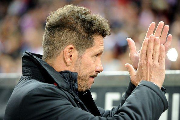 """Simeone """"¿Que si ECHO DE MENOS un Falcao o un Diego Costa? Podría decir muchas cosas...pero voy a decir que NO""""."""