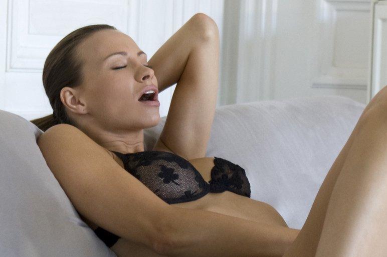 During her orgasm
