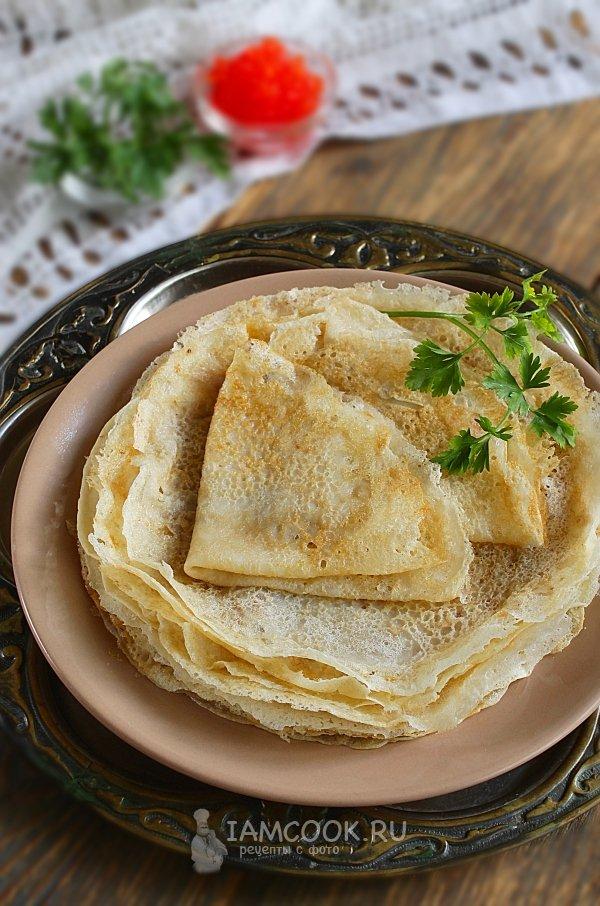 Блины и оладья рецепт с пошагово