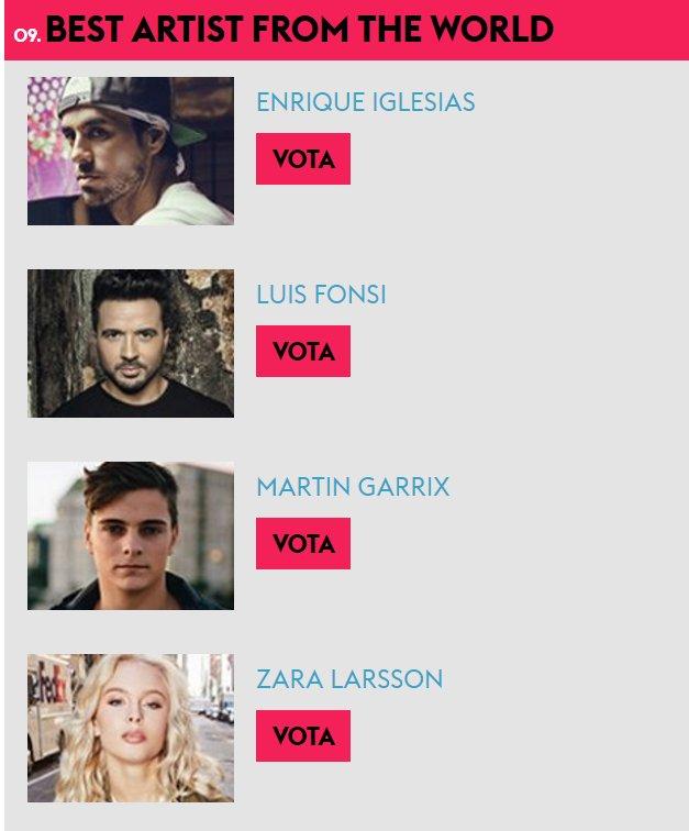 Let's go to vote for @enriqueiglesias in @mtvitalia https://t.co/0RKrtm8Kgj  Sigamos votando por #EnriqueIglesias https://t.co/N66qUndP2T