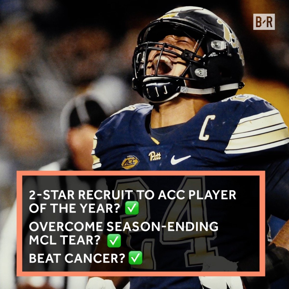 Beast Mode 2.0?Cancer survivor James Conner is ready for the NFL