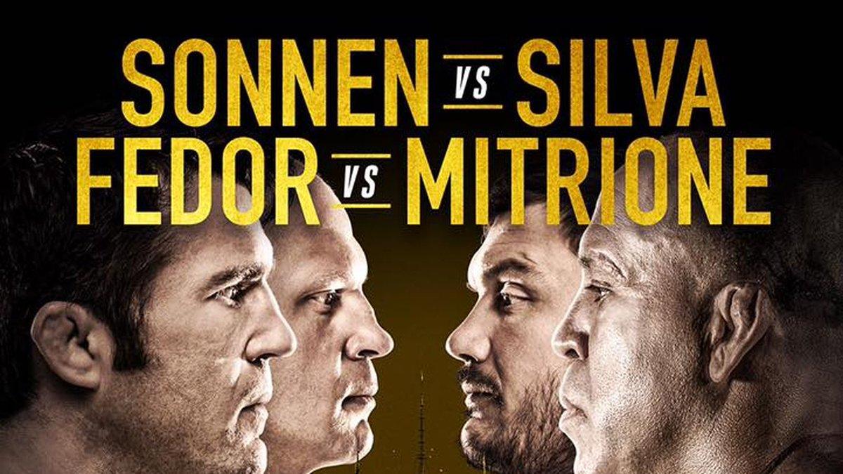 Latest Bellator 180 fight card, rumors for 'Sonnen vs Silva' on June 24 at MSG https://t.co/Kxa7Ho9DJL #mma #ufc https://t.co/syu1jWUaf5