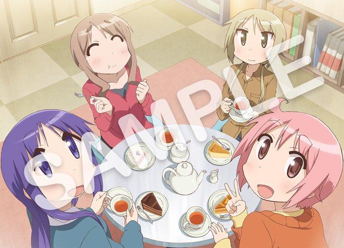 2月22日発売「ゆゆ式 OVA」の法人オリジナル特典版権を公開しました!ぜひ公式サイトをチェックしてみてください  #y