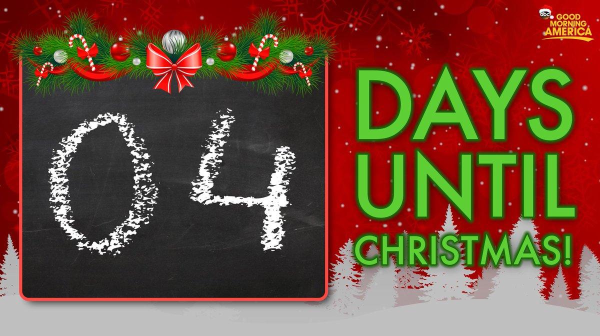 4 days until christmas - How Days Until Christmas