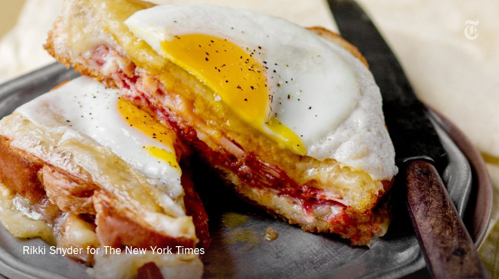 All we want for Christmas is (gooey, fatty, salty) brunch