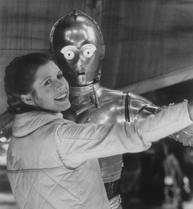 I am broken. Rest in peace, Carrie. You inspired so many of us. https://t.co/NaDK4UoF9C