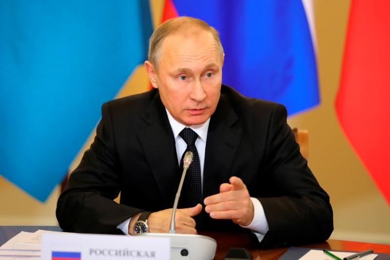 Putin says new gas pipeline will boost annexed Crimea's economy