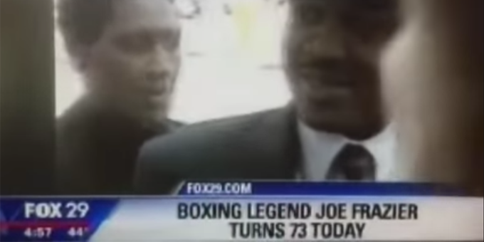 VIDEO: Newscast wishes Joe Frazier a happy birthday, forgets he\s dead