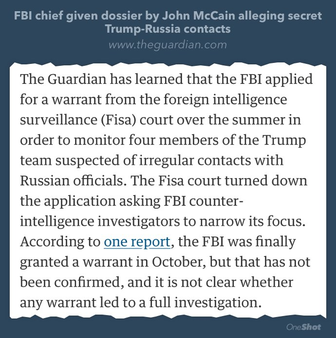 Denial of a FISA surveillance warrant is *incredibly* rare: 12 ever out of 33,954 requests. https://t.co/r0ZJhUVUF8 https://t.co/XCLosC526b