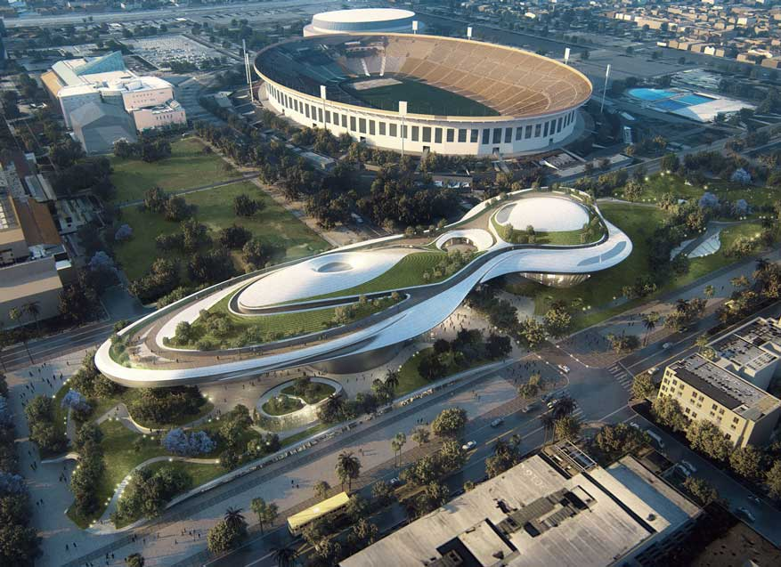 George Lucas will build his museum near his Los Angeles alma mater: https://t.co/hYtAHCzExu https://t.co/IFqVa8ykab