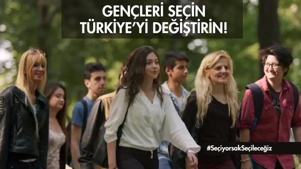 RT @AdanaAkGenclik: Gençler meclise geliyor, Türkiye güçleniyor. #SeçiyorsakSeçileceğiz https://t.co/WenPPq8ew7