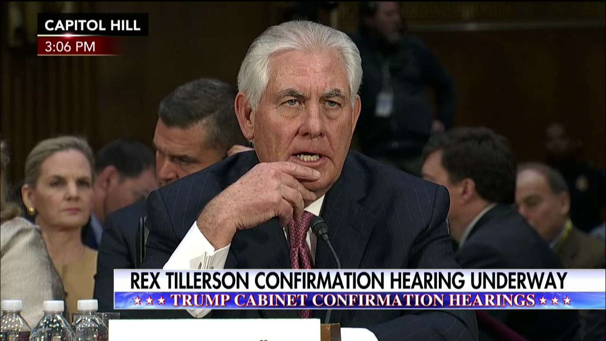 Rex Tillerson: 'About 60% of @exxonmobil's employees are non-Americans.'