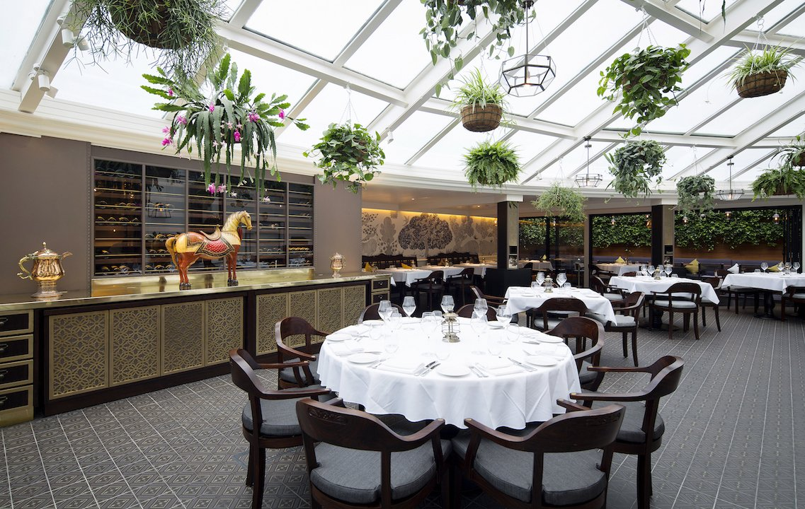 Bombay Brasserie London's best themed restaurants