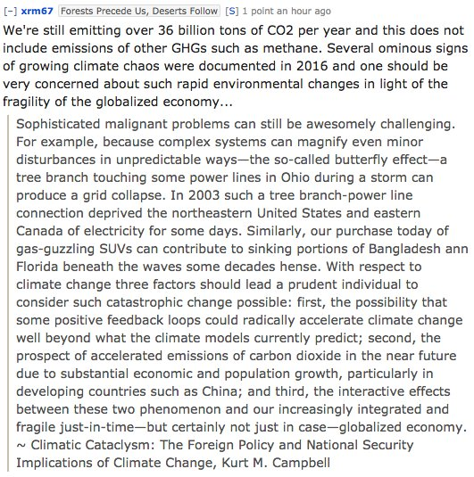 #climatechange: #climatechange