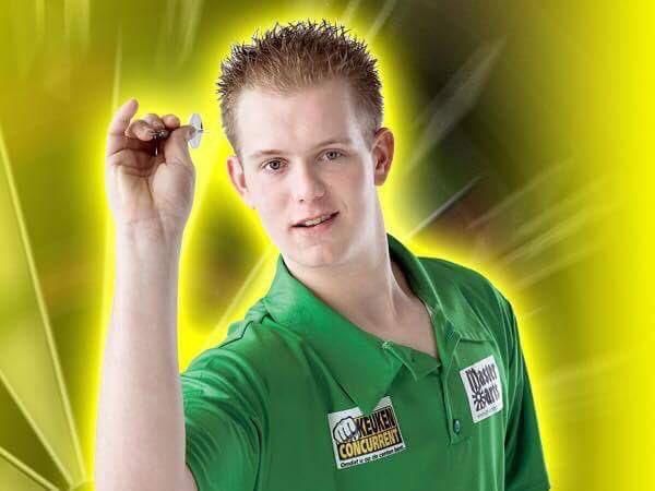 Ladies And Gentlemen Here Is Michael Van Gerwen With Hair