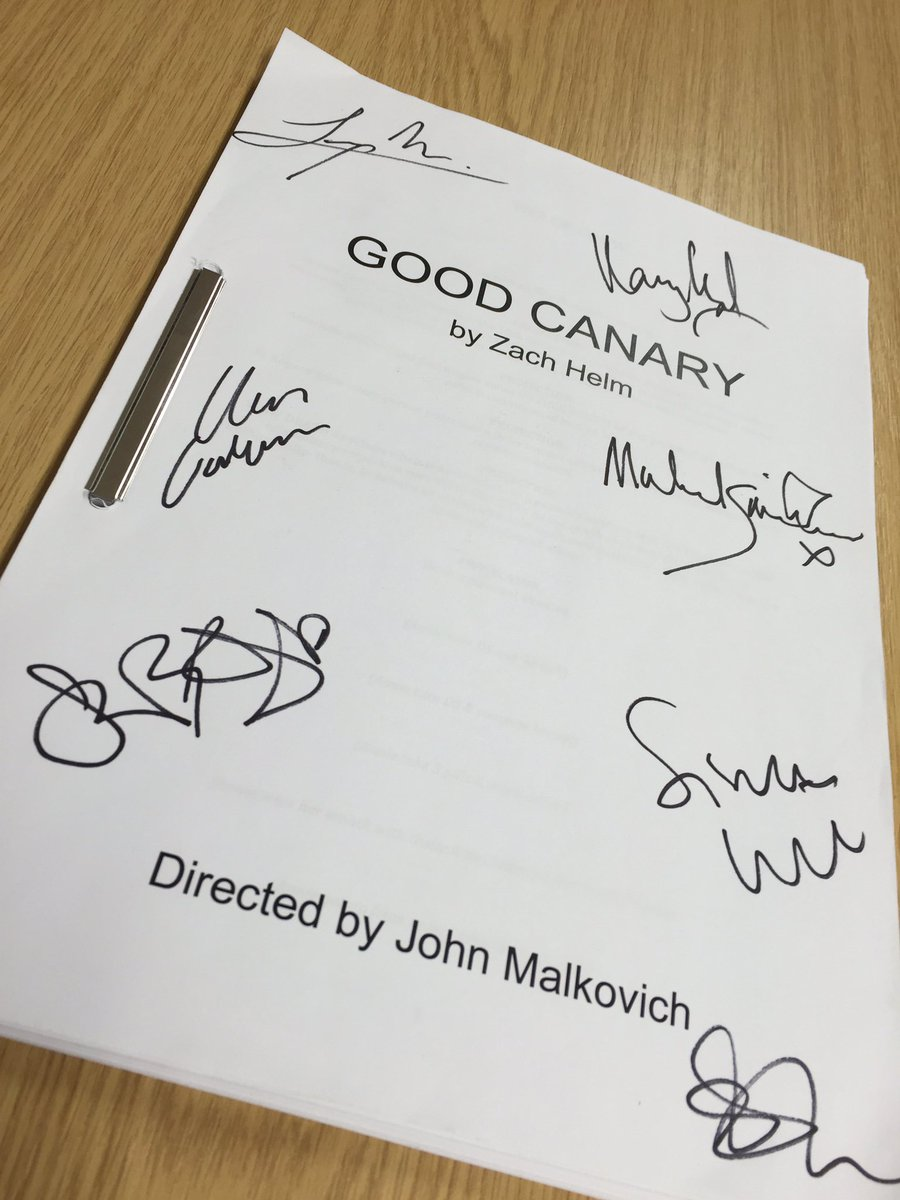 #Rose12Days #ThrowbackTuesday to the stunning #GoodCanary. Follow us & RT for a chance to win a signed script! https://t.co/gOyat3Tz0Y
