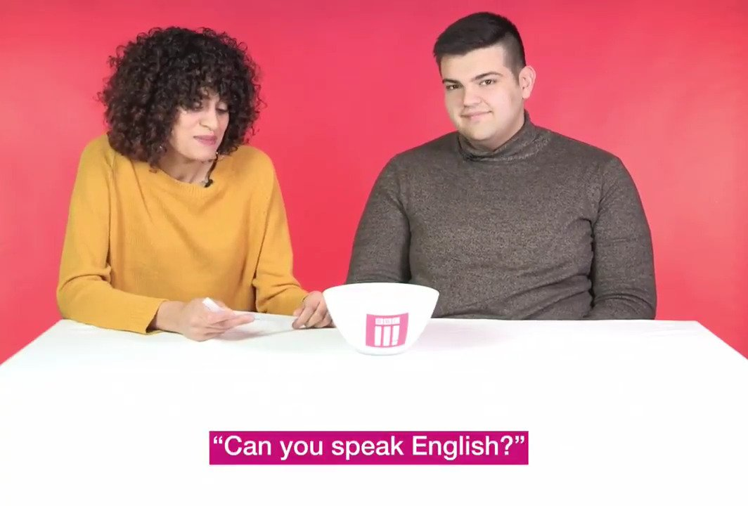 """Can you speak English?""  ""Actually English is my fifth language""  Things refugees are tired of hearing. https://t.co/LmOwGNkKSE"