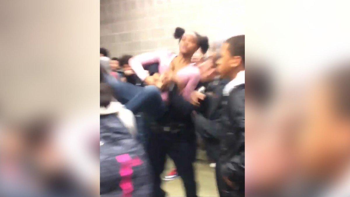 North Carolina high school resource officer body slams female student in viral video