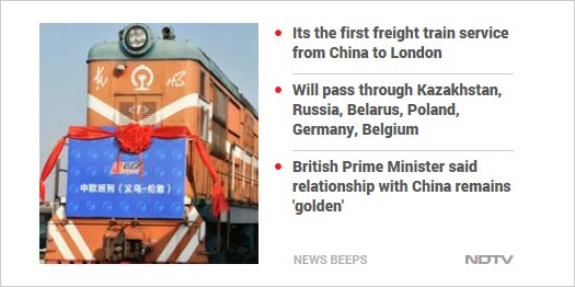China To London Train Now: 7,500 Miles In 18 Days