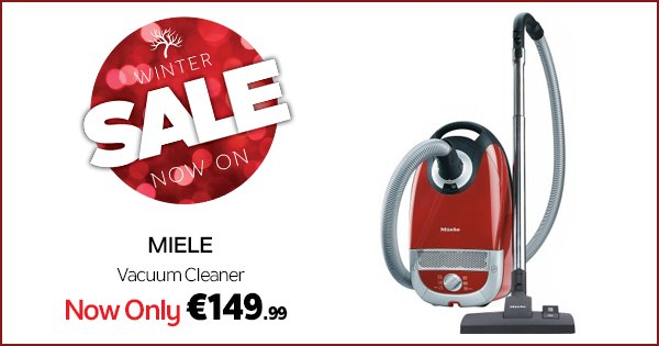 Get Miele standard quality for a fraction of the price! This C2 Vac is just €149.99 at DID https://t.co/2afJ7tAZJA https://t.co/ZoQwvXCQcG