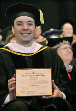 Good luck hosting the #GoldenGlobes on @nbc this weekend, @jimmyfallon! Your #StRose alma mater is proud of you! https://t.co/xUigkxZy7f