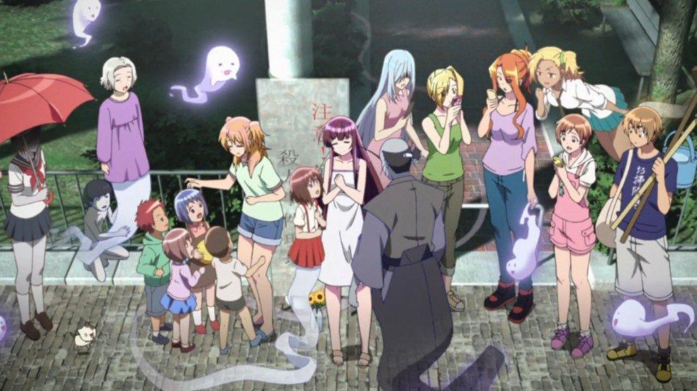 レーカン!は人と幽霊の大切な関わり合いをやさしく描いた日本らしさ満開のアニメなので今暇があるなら絶対見てください。必ず泣