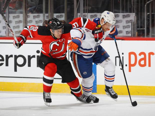 Taylor who? Adam Larsson steadies Oilers' once-shaky defence half a season after Hall trade