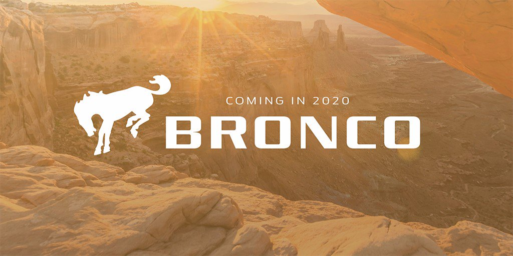 We are bringing back the #Ford #Bronco! One of five all-new global utilities coming by 2020. #FordNAIAS #NAIAS https://t.co/ipndvUObcS