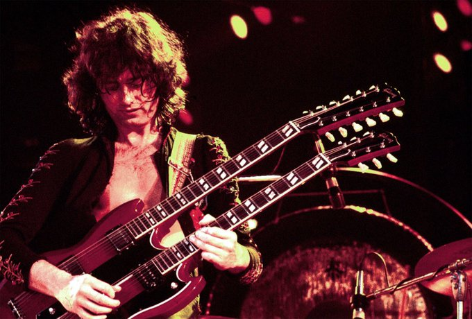 Happy Birthday to one of the GREATEST guitar players of all fuckin time!:) Jimmy Page!!