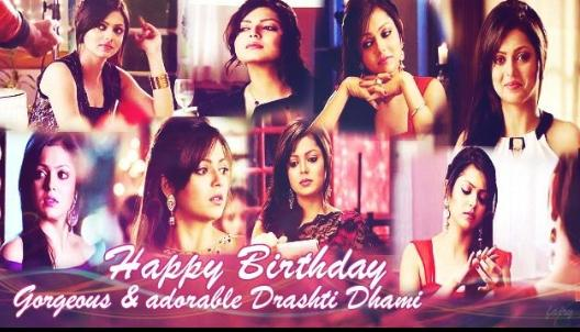 Wish u a Very Very Happy Birthday Drashti Dhami May ALLAH Bless u..