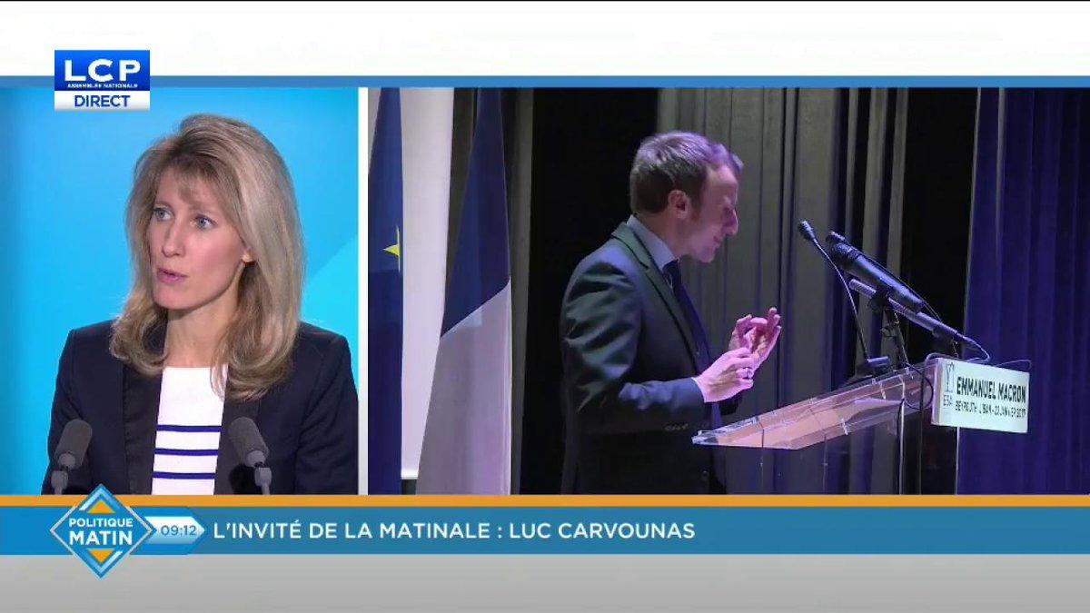 - @luccarvounas : 'Il n'y aura pas d'hémorragie !' #PS #EnMarche #legislatives #PolMat