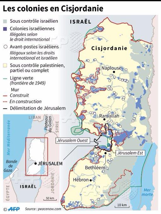 Israël sous l'effet Trump annonce 2.500 logements de colonisation https://t.co/Bi0PCkTrhl #AFP