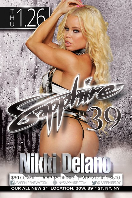 3 pic. Meet me live Thur Jan 26 at the brand new Midtown Sapphires @SapphireNYC on 39th street 💃💃 https://t
