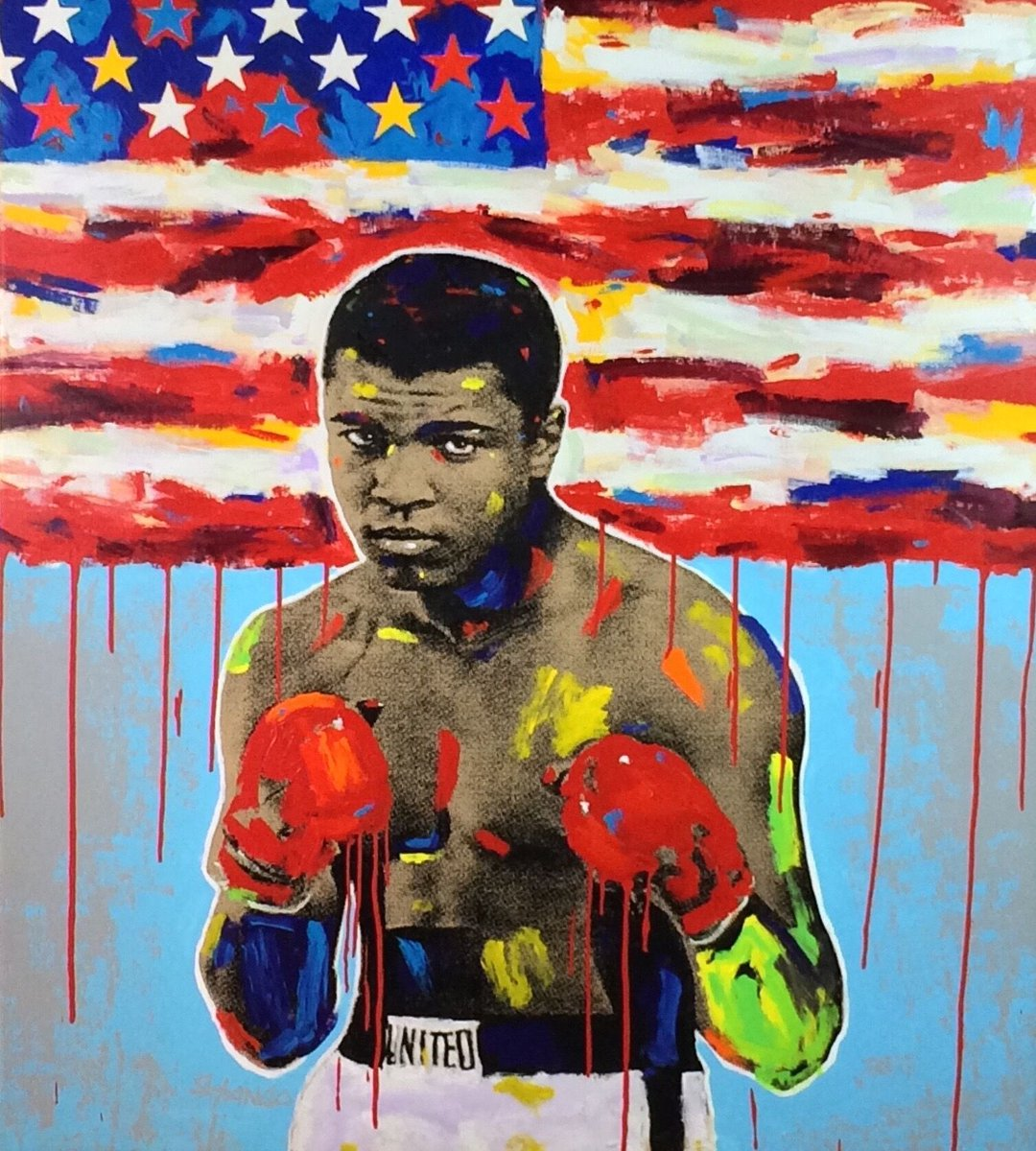 RT @AliCenter: Our new exhibit Inspiration to Action: An Art Tribute to Muhammad Ali opens today! Come check it out! https://t.co/QqWwdofeeX