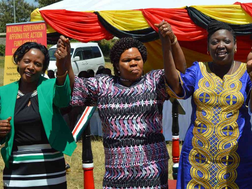 947 Kiambu students get Sh7m bursaries for vocational training