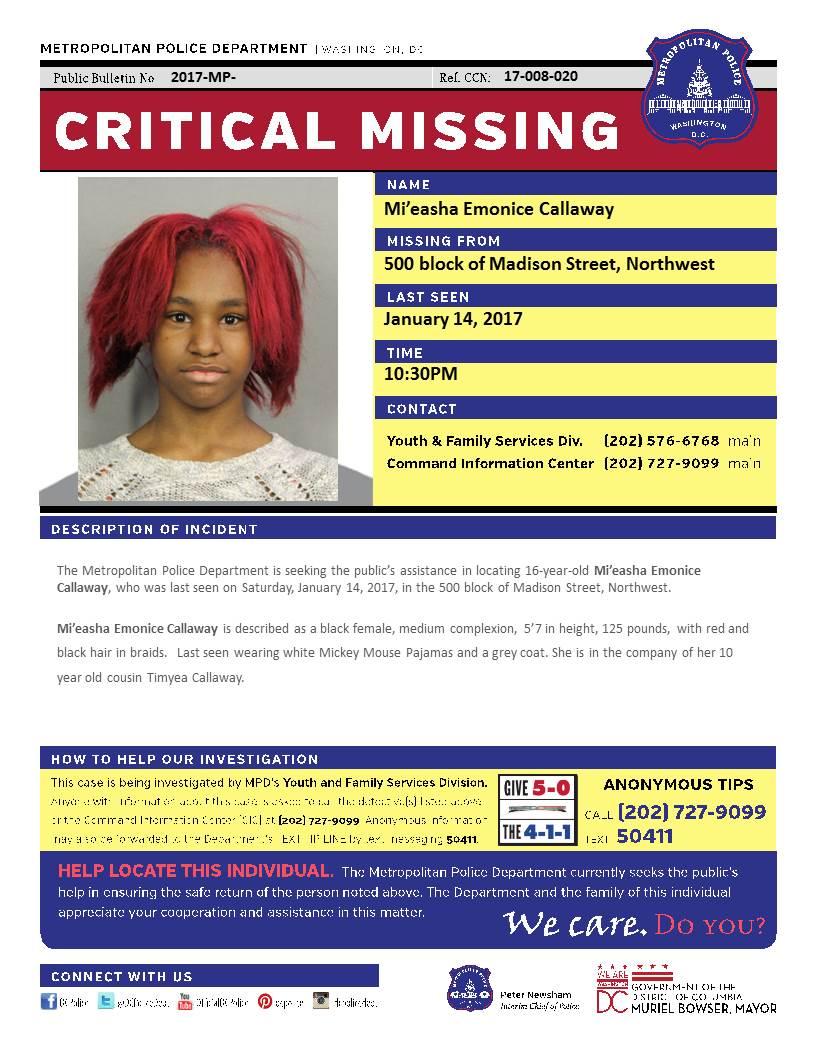 Missing Person Critical https://t.co/jzA1g8P0OU