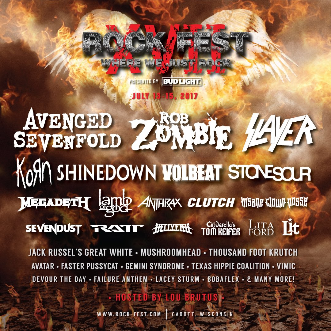 Tickets are on sale now for @rockfestwi: https://t.co/GA0Pv3OjGd https://t.co/D8SfBb3Gwi