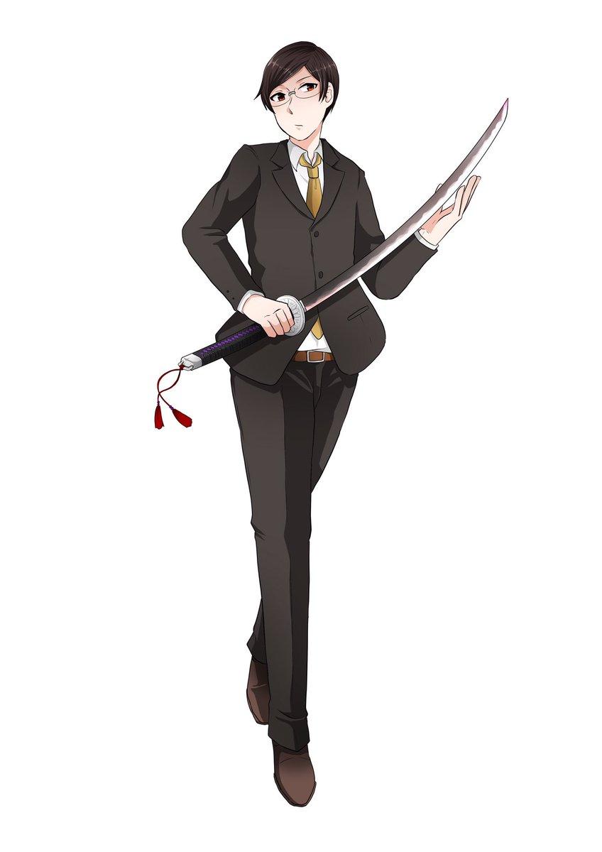 渡辺綱雅(わたなべつなまさ)28歳普段は大手企業の若社長裏は妖刀「鬼斬」を使いこなす祓い屋の一人  読みはオニキリオニギ