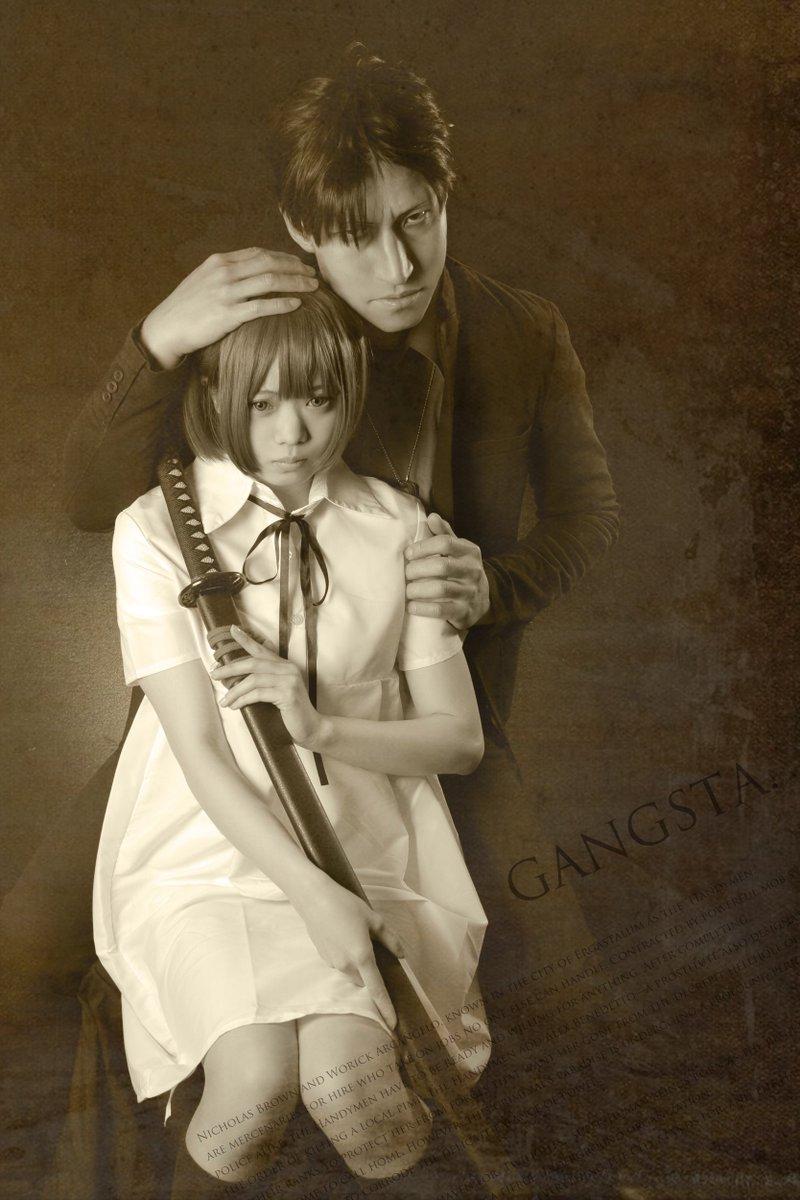 【GANGSTA.】ニナ:あずさん()ニコ:テツ#ギャングスタ