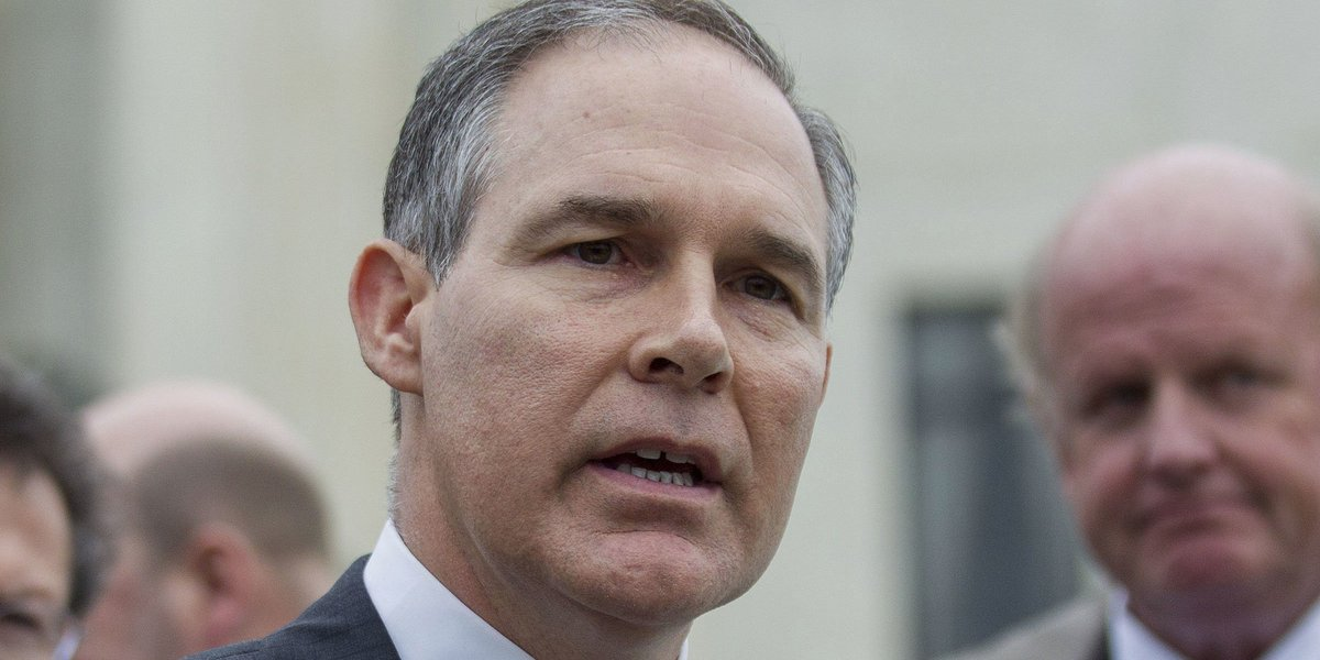 "Here's why Scott Pruitt has been called a ""dangerous"" choice to lead the EPA"