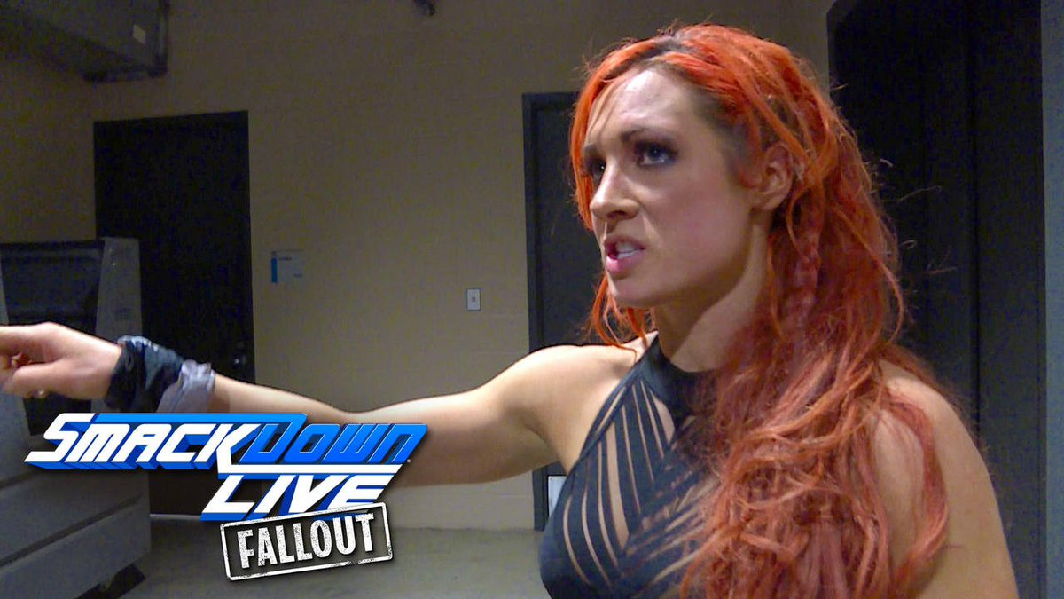 "EXCLUSIVE @BeckyLynchWWE is ENRAGED at @AlexaBliss_WWE and @MickieJames for ""disgracing"" the #SDLive #WomensTitle!"