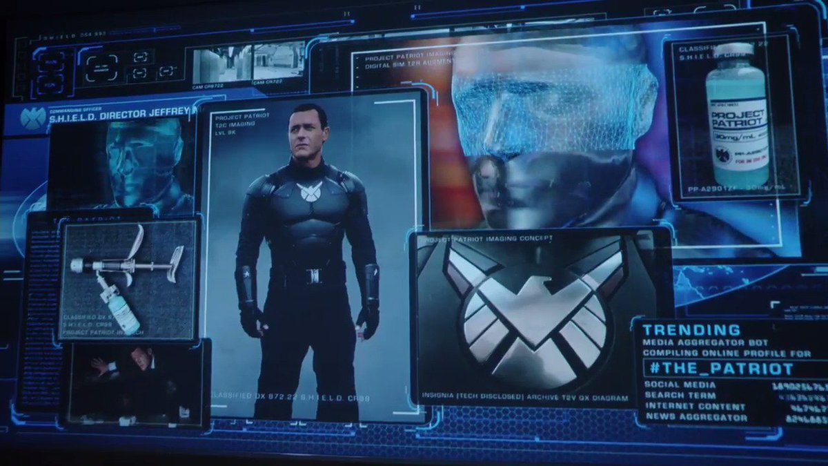 Finding the next Captain America was no easy task. #AgentsofSHIELD