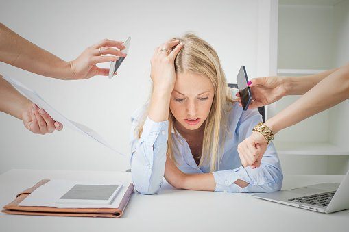 Some pressure at work can be motivating, but when it becomes excessive it can lead to work-related stress: https://t.co/LDbaESPLEY