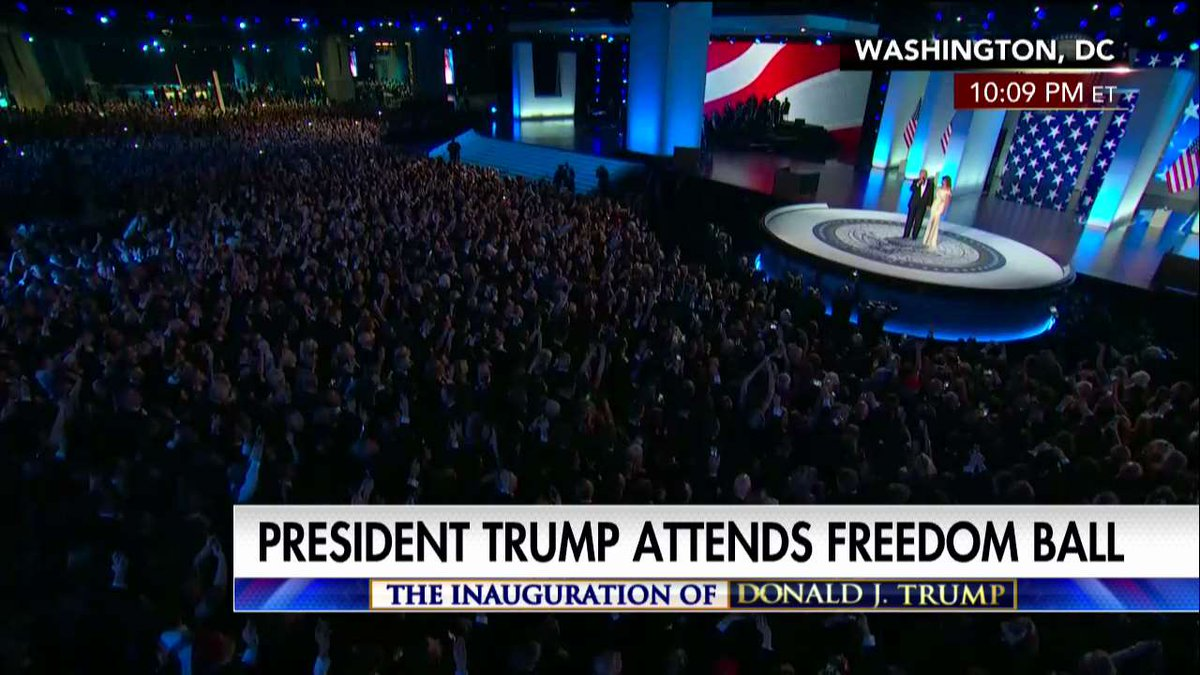 """.@POTUS: """"Many of the people in this room went to those rallies with us."""" #Trump45 #inauguration"""