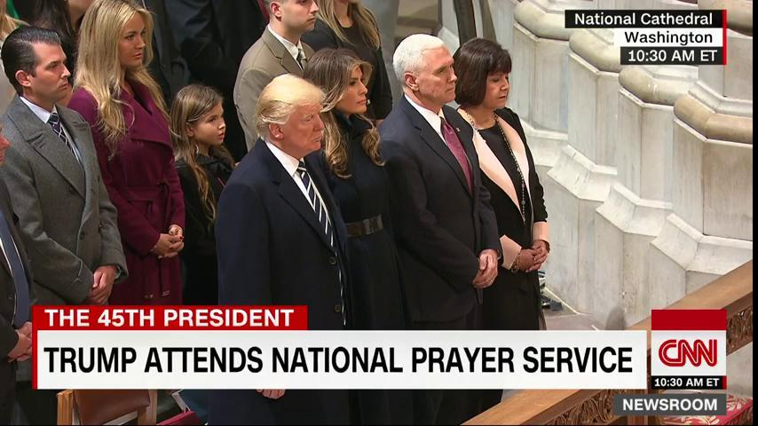 President Trump attends interfaith prayer service at Washington's National Cathedral https://t.co/ESyl1Cy6u5