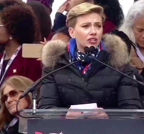 Thank you, Scarlett Johansson for speaking up for the 1 in 5 American women who've relied on Planned Parenthood for care. #WomensMarch