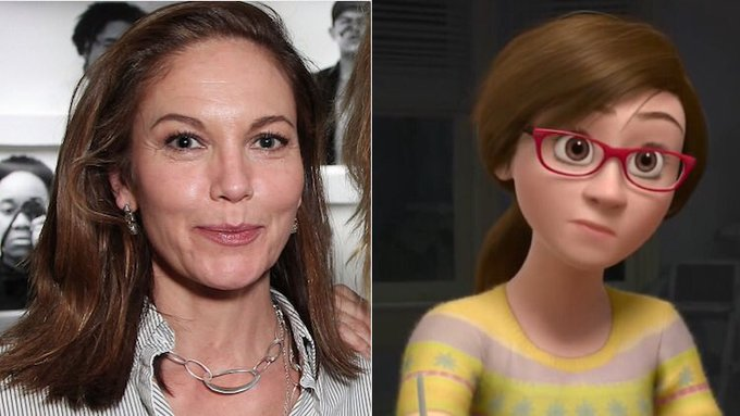 Happy 52nd Birthday to Diane Lane! The voice of Riley\s Mom in Inside Out.