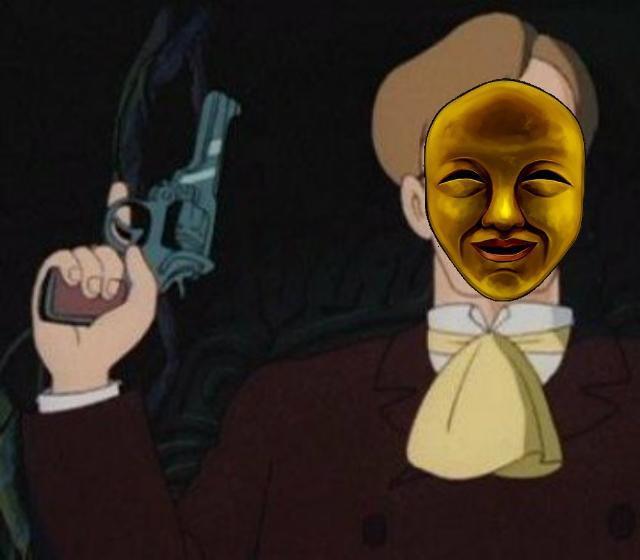 今日の闇芝居の声優ムスカ大佐か、つまりこういうこと?#闇芝居