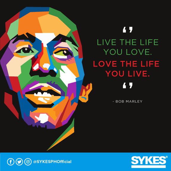 Happy Monday and happy birthday, Bob Marley! Here\s one of his famous quotes to inspire you today!
